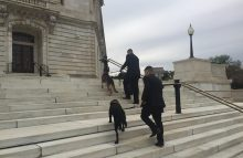 Robin Ganzert: Military dogs at Capitol Hill