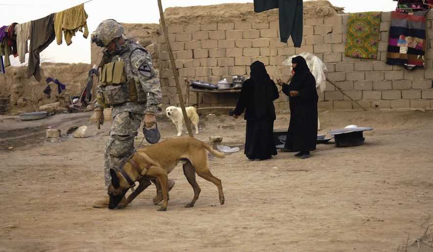 American Humane's Robin Ganzert: When Military Dogs return to the US