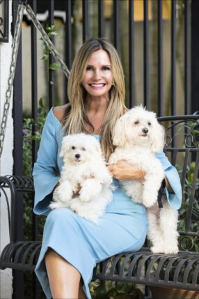 Robin Ganzert and her two dogs